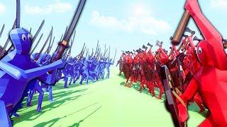 ТЫСЯЧА САМУРАЕВ ПРОТИВ ВИКИНГОВ В TABS! (Totally Accurate Battle Simulator)