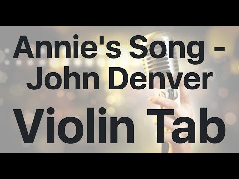 Learn Annie's Song - John Denver on Violin - How to Play Tutorial
