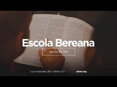 Escola Bereana | Lição 10: Uma viagem dramática a Roma | Prof. Jean Douglas | 01/09/2017