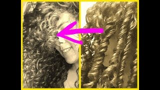 Super Frizz control 👉LAZY FINGER COILS👈CURLY HAIR