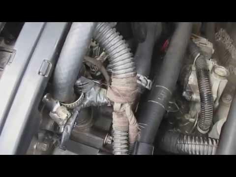 Не греет печка радиатора Opel Vectra C решение