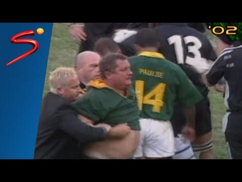 Springboks vs All Blacks history at Kings Park