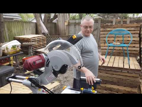 Harbor Freight (Chicago Electric) 12 Inch Miter Saw Tool Review: