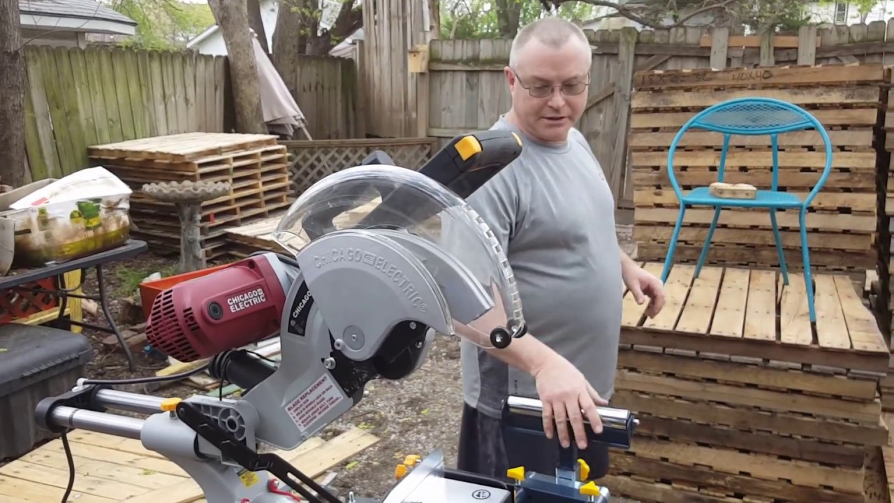 Chicago Electric 12 Inch Miter Saw