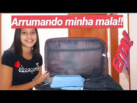"""ARRUMANDO MINHA MALA """"RIO DE JANEIRO"""" ❤"""