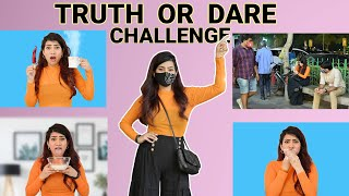 I Do Makeup In **PUBLIC PLACE** Truth Or Dare? | Anishka Khantwaal |