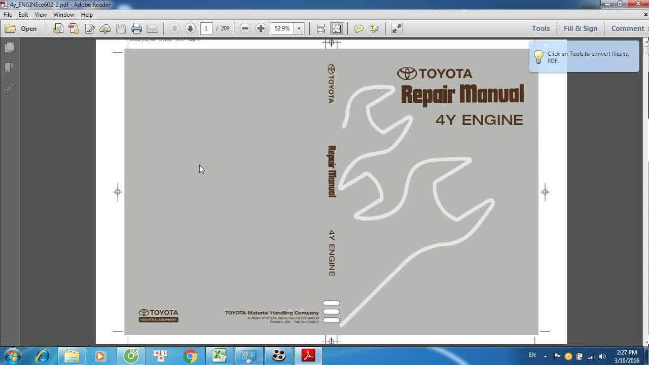 toyota 4y engine repair manual youtube rh youtube com Toyota Yaris IA Manual Transmission 2016 Toyota Corolla Manual
