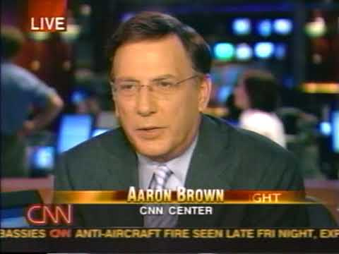 News - Iraq War - Part 2 - Tanks into Baghdad - 4 Apr 2003 11 30pm ET