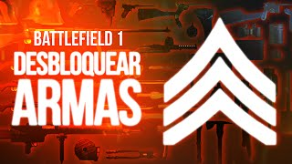 BATTLEFIELD 1 - Como Desbloquear Armas e Dicas pra Subir de Nível Rápido