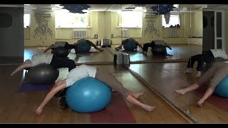 Stretch for pregnant women. Perm. Malina Fitness. Растяжка для беременных