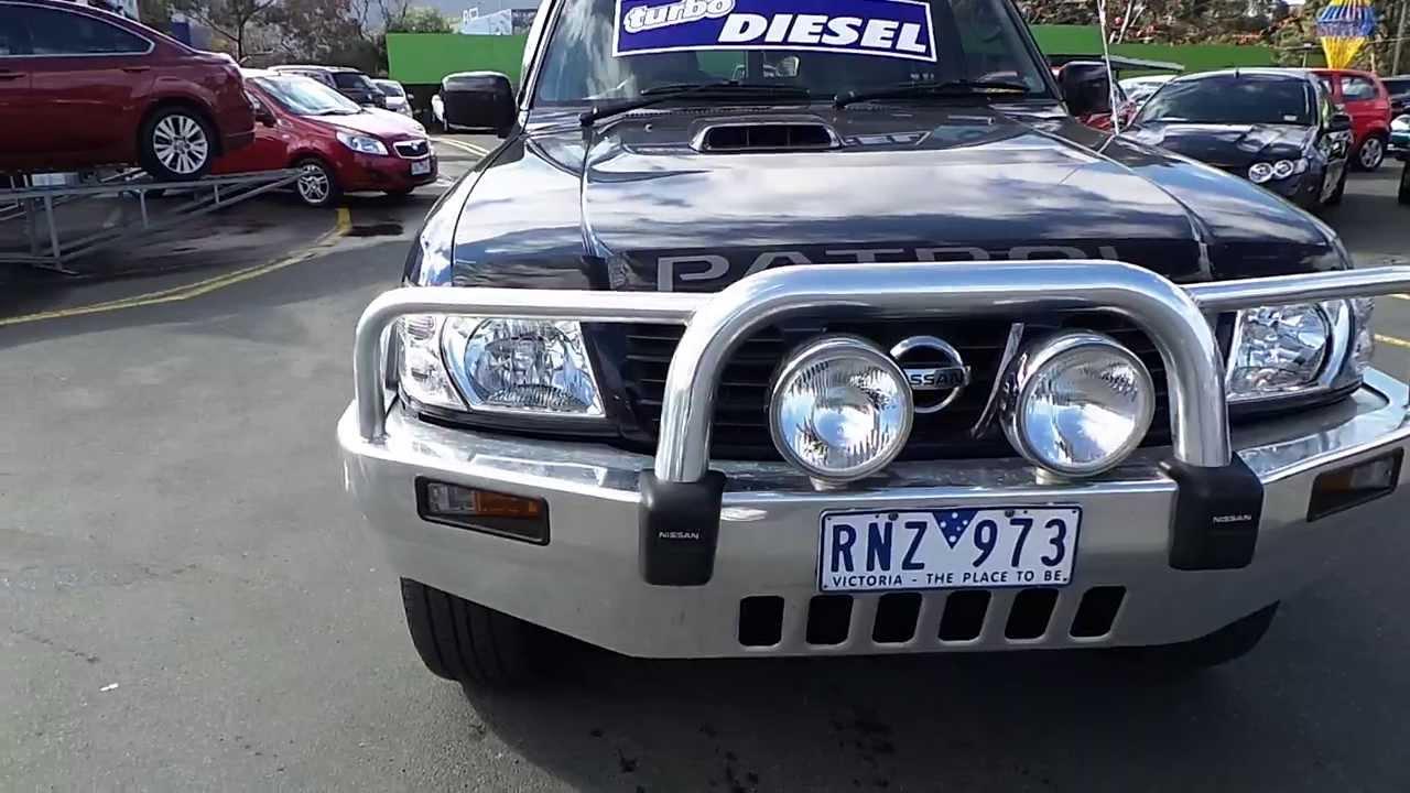 Used 2001 Nissan Patrol ST 4x4 Turbo Diesel Manual for sale Car