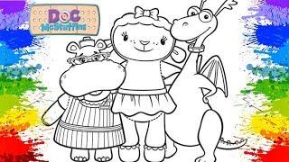 Pinturas Doutora Brinquedos em portugues Desenhos para colorir Crayola Mess Free DESENHOLANDIA