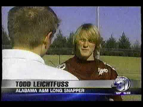 Todd Leichtfuss Long Snapper