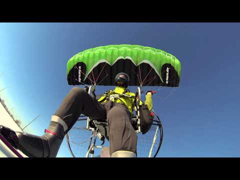 Paramotor Blazing Speeeeed!!! Powered Paragliding One Of The Few Speed Wings That Motor Well!!