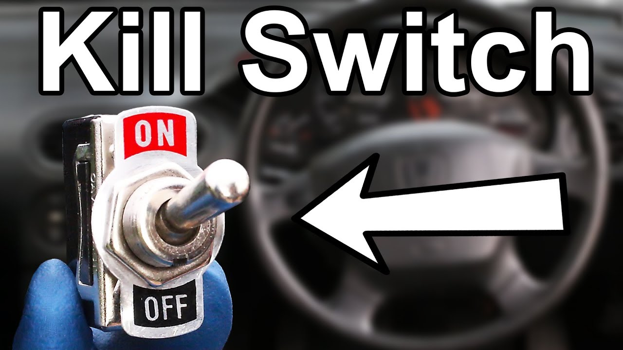 how to install a hidden kill switch in your car or truck cheap anti theft system  [ 1280 x 720 Pixel ]