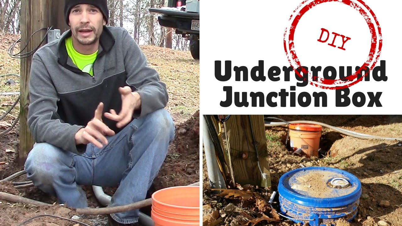 Diy Underground Junction Box Youtube Electrical Wiring In The Home 30 Amp Rv Temporary Hookup Pvc