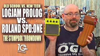 Roland SPD:One vs. Logjam Prolog - The Stompbox Throwdown