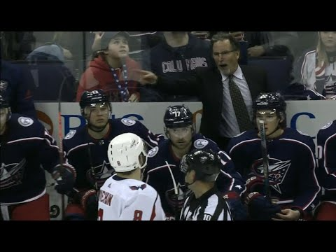 Ovechkin and Tortorella shouting match after Calvert ejection