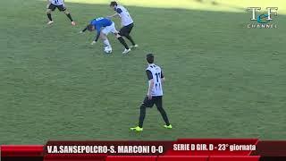 Serie D Girone D V.A.Sansepolcro-Sasso Marconi 0-0