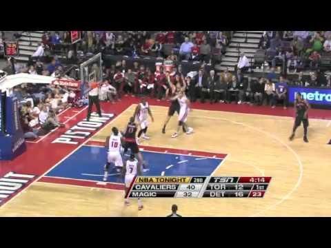 toronto-raptors-vs-detroit-pistons-|-first-half-highlights-|-11/23/2012-|-nba-season-2012/13