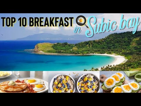 Top 10 Restaurants for Breakfast in Subic Bay