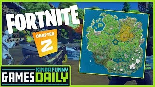 What's New with Fortnite Chapter 2 - Kinda Funny Games Daily 10.15.19