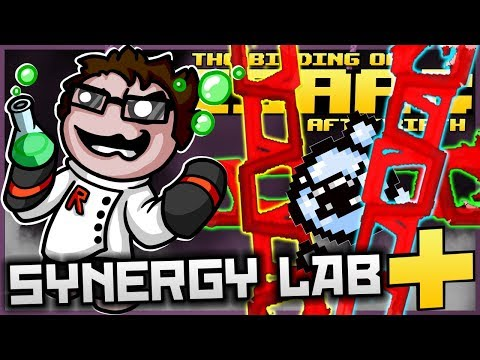 The Binding of Isaac: Afterbirth+ - Synergy Lab: ULTIMATE BRIMSTONE CHAINS! (NEW ITEM AMAZINGNESS