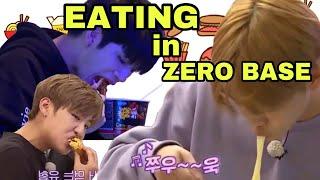 Wanna One Go Zero Base! MUKBANG (먹방) Eat it all! | EATING COMPILATION #1