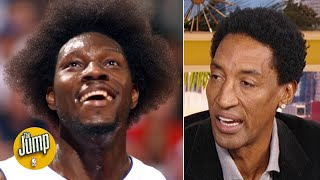 Scottie Pippen makes the case for Ben Wallace in the Basketball Hall of Fame | The Jump
