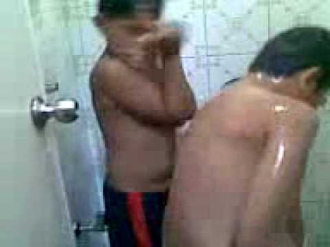 Kids shower time