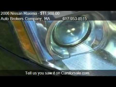 2006 Nissan Maxima Sl For In Somerville Ma 02143