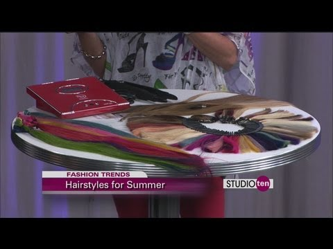 studio10: summer hair trends, extensions, she