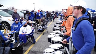 Royals fans embrace opening day despite cold weather
