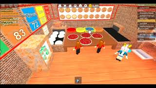 Our New Job! | Roblox Work at a Pizza Place|