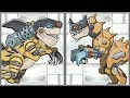 Dino Robot Desert T.Rex + Shark Attack - Full Games 1080 HD