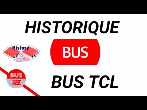 HISTORIQUE DES BUS TCL (1960--2019) LYON