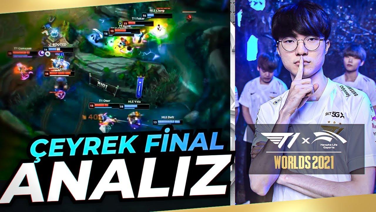 Download FAKER 6. KEZ WORLDS YARI FİNALİNDE   T1 VS HLE ANALİZ
