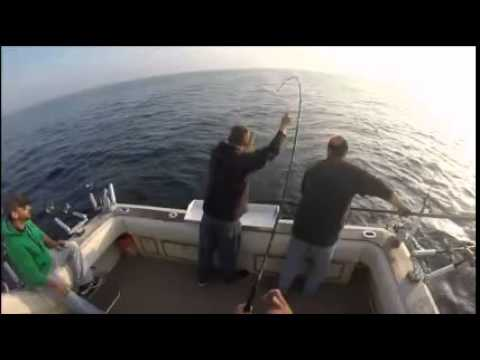 Algoma charter fishing with captain adam youtube for Algoma fishing charters