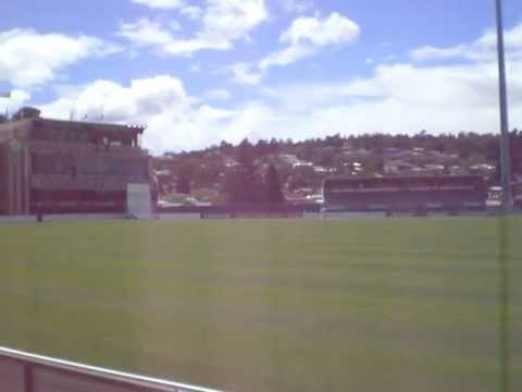 Looking round the Blundstone Arena