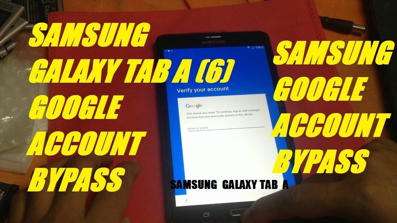 Samsung Tab E Frp Bypass 2019