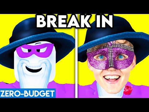 BREAK IN WITH ZERO BUDGET! (ROBLOX BREAK IN PARODY BY LANKYBOX!)