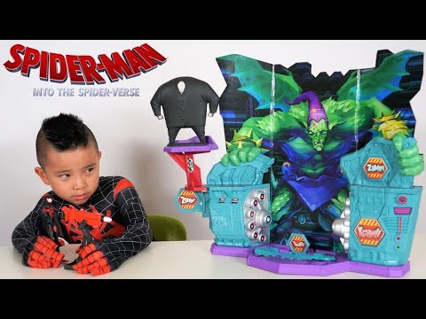 Spider-Man Spider-Verse Super Collider Playset Unboxing Fun With CKN Toys
