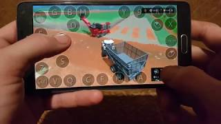Farming simulator 2017 platinum edition on Samsung galaxy note4. harvesting time