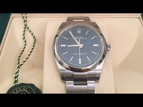 Rolex Oyster Perpetual 39 Blue Dial