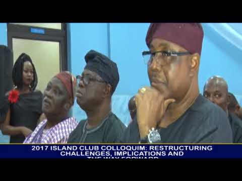ISLAND CLUB HOLDS COLLOQUIUM ON RESTRUCTURING.