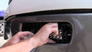 """Rigid Industries 6"""" E Series LED lights install on 2004 Ford FX4"""