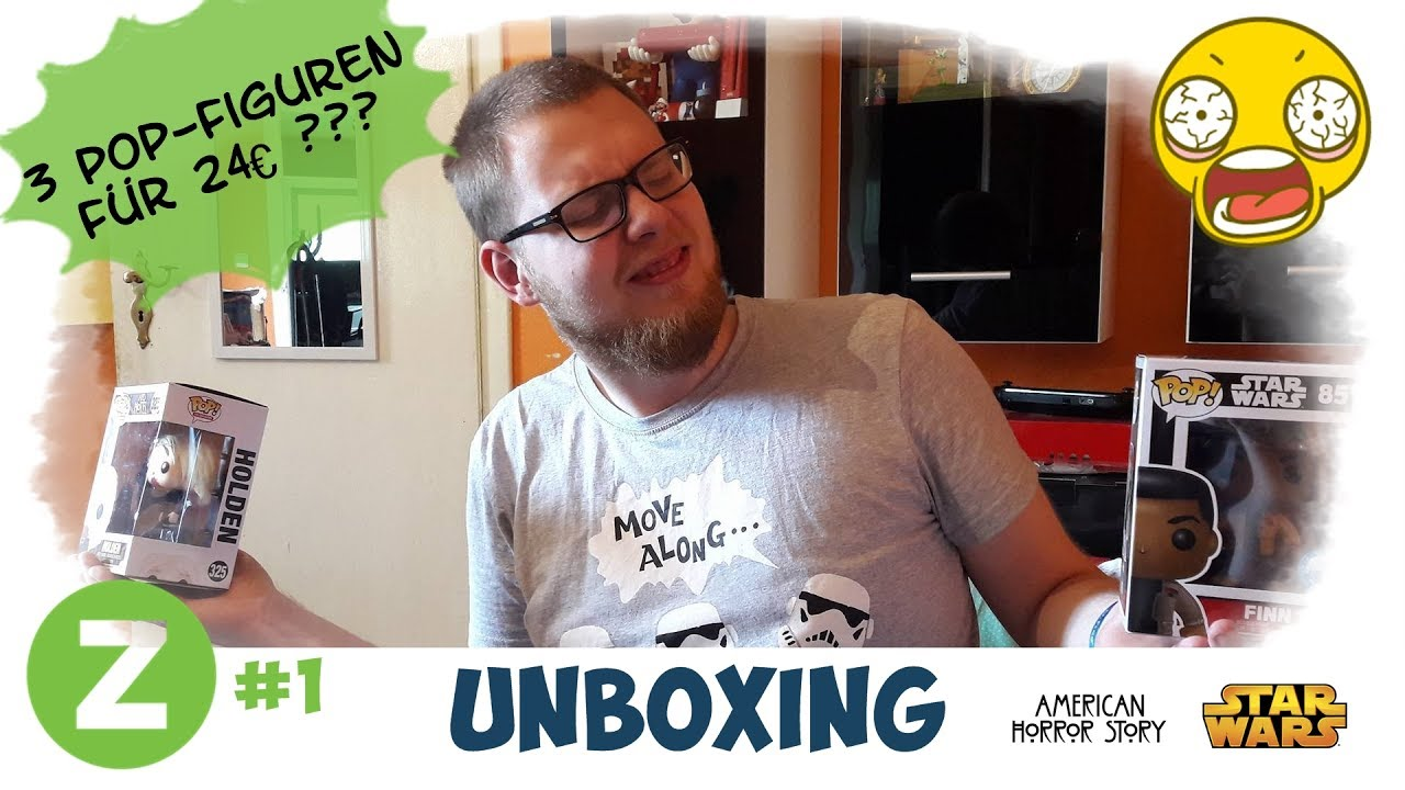Figuren Shop 24 Zavvi Unboxing 3 Pop Figuren Für 24 German 01