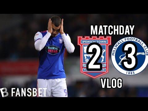 Ipswich 2 Millwall 3 - Matchday Vlog - IpswichFanzone EP51