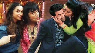 Comedy Nights Bachao Deepika Padukone And Ranbir Kapoor