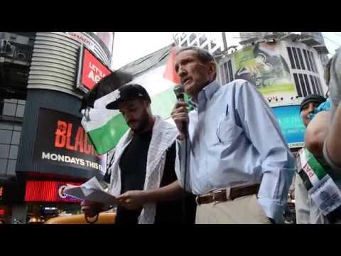 2014 [Former US Attorney General Ramsey Clark] at Al-Quds Day, New York